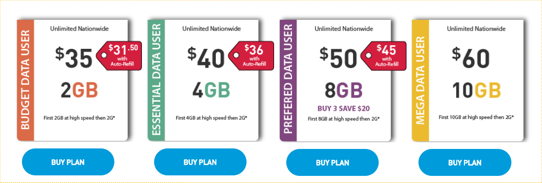 Net10 Wireless Plans and Specials